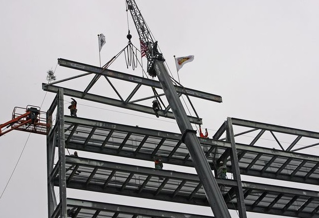 Harold Hinson Topping Out